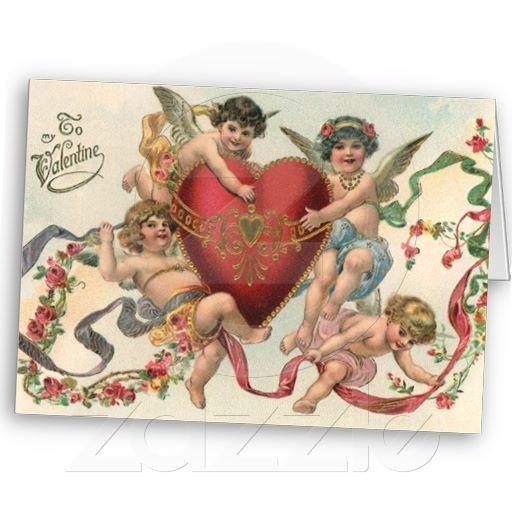 valentine cards victorian