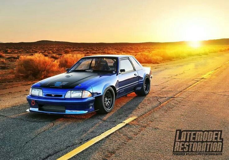 Ford Mustang Fox Body W Wide Body Mustang Sally Pinterest