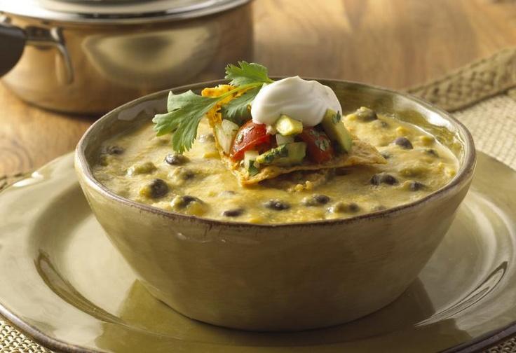 Black Bean Butternut Squash Soup (Saladmaster)