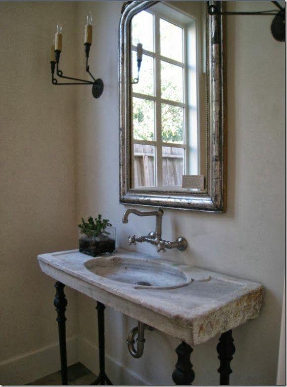 Antique Marble Sink : antique marble sink sink ideas Pinterest