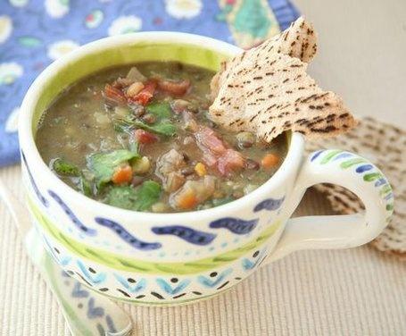 Tri-Colored Lentil Soup | Recipe