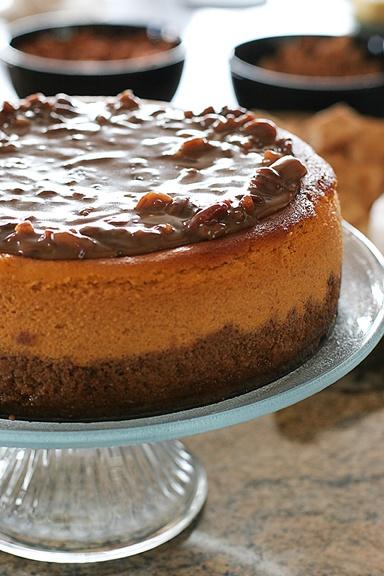 Larger-Than-Life Praline Cheesecake | Recipe