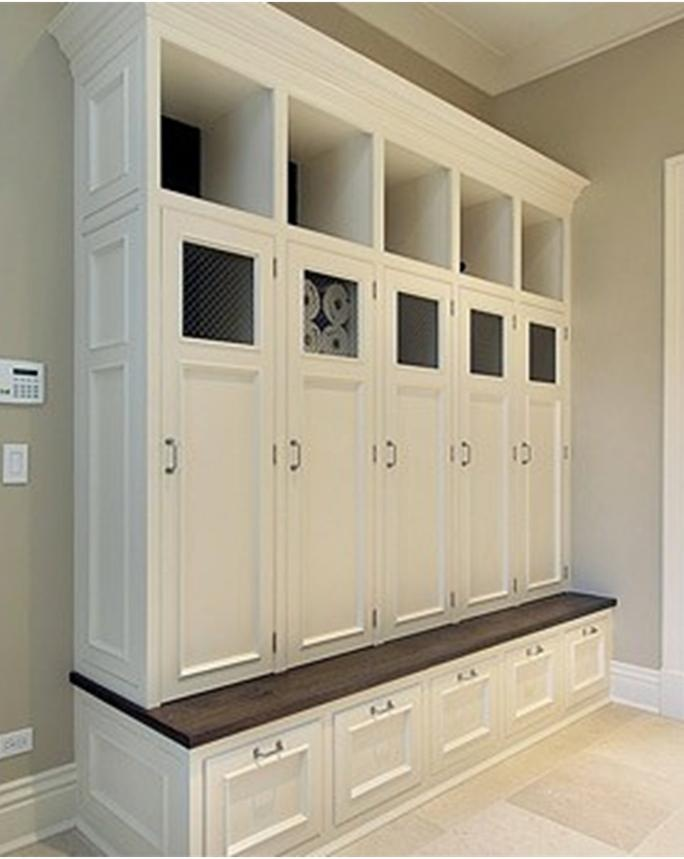 Big Mudroom Cabinet Home Pinterest