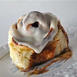 Clone of a Cinnabon, trying it with ap flour, not a huge fan when the ...