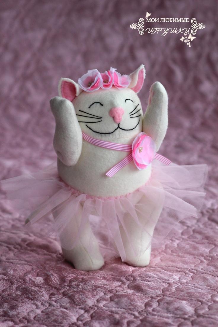 Мои любимые игрушки: Конфетная кошка, soft toy