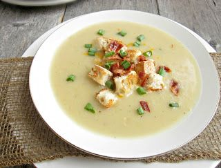 Hungry Couple: Creamy Potato & Leek Soup...and Hunkering for Sandy