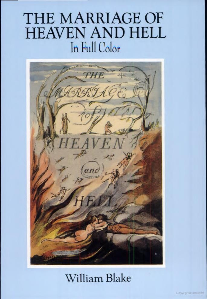 william blake the marriage of heaven and hell analysis essay