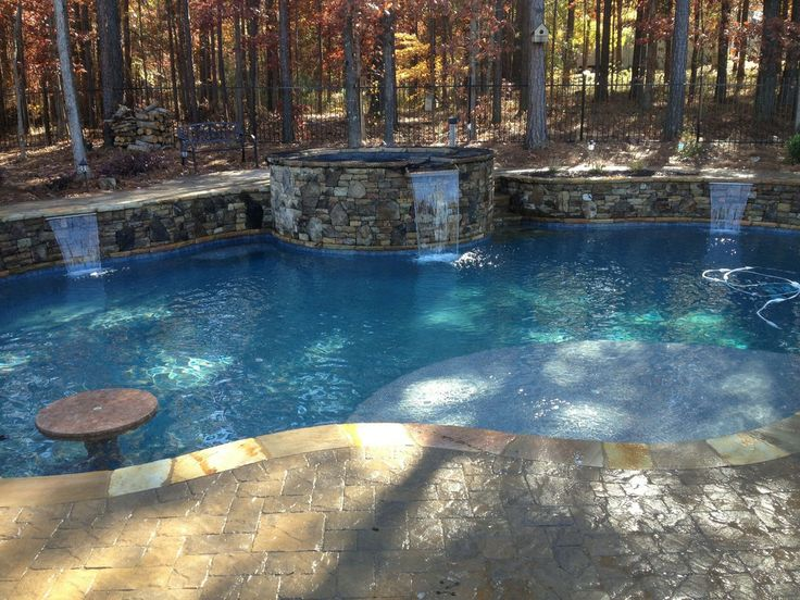 rustic swimming pool awesome amazing pools pinterest