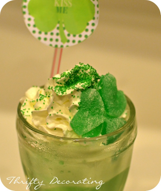Shamrock Floats
