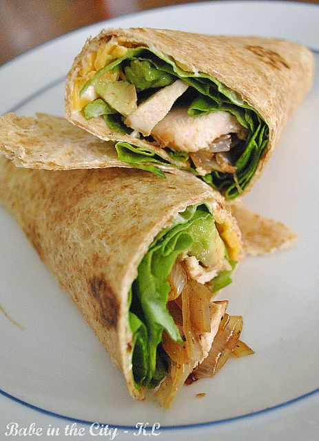 Brown bag lunches: Wraps | Blonde & Balanced