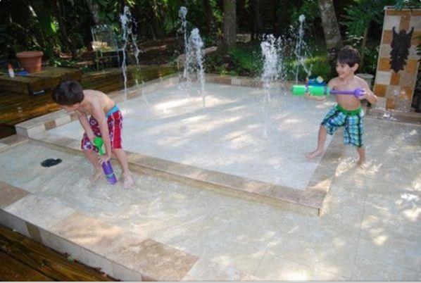 build a backyard water park me casa pinterest