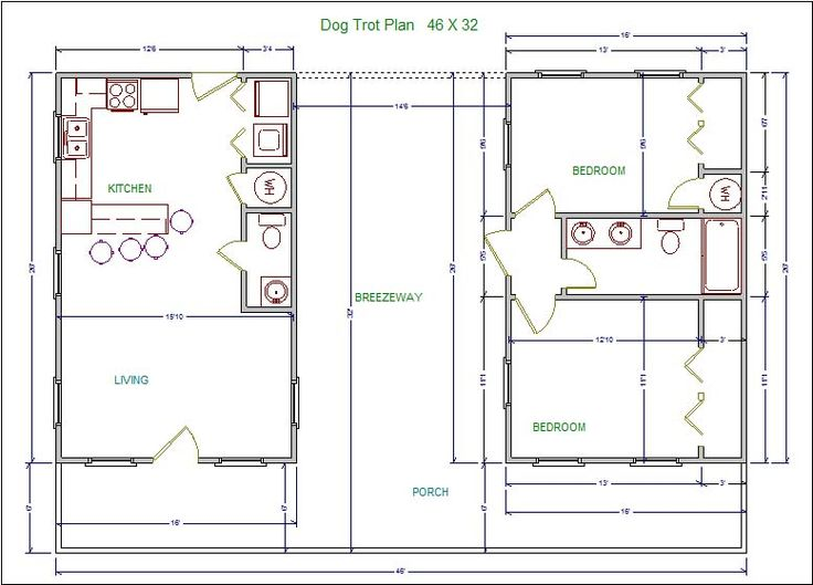 Living modern dog trot house plans free printable house plans ideas
