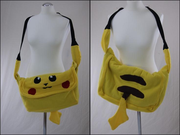 :) Pikachu bag
