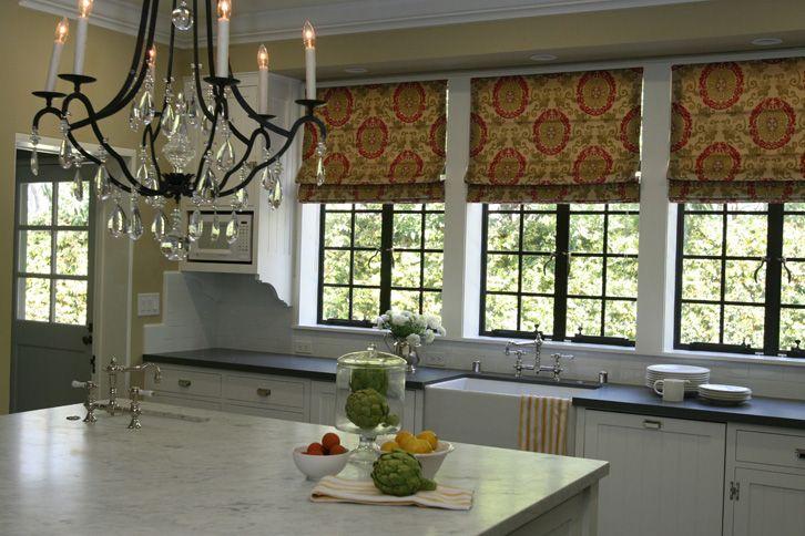 Roman Shades Window Treatments Pinterest