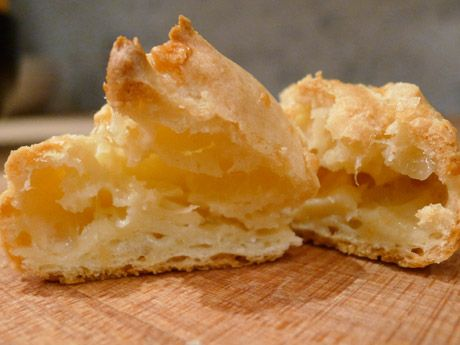 Lefebvre's French-Style Cheese Puffs Recipe - Super Bowl Party Recipes ...