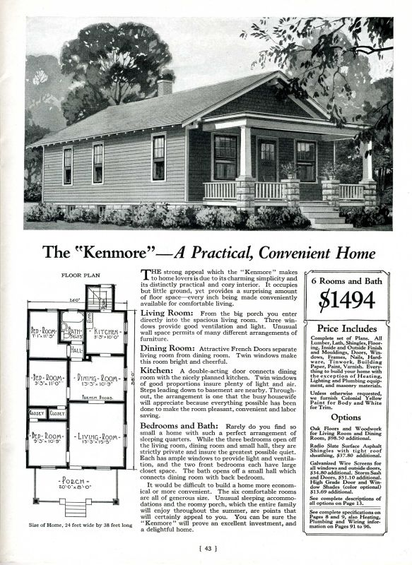A kenmore house by montgomery ward i remember pinterest for Catalog houses