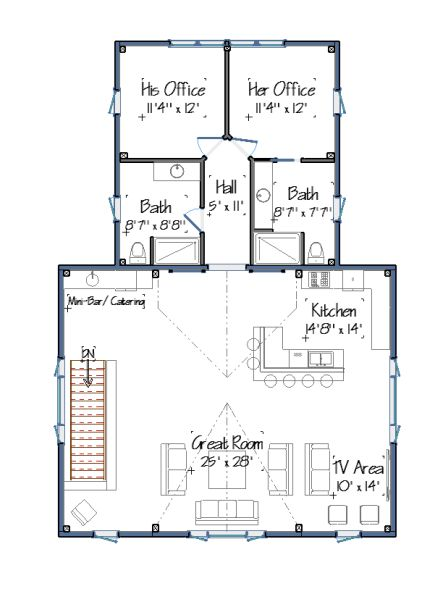 Carriage house second floor plan country thoughts Carriage house floor plans