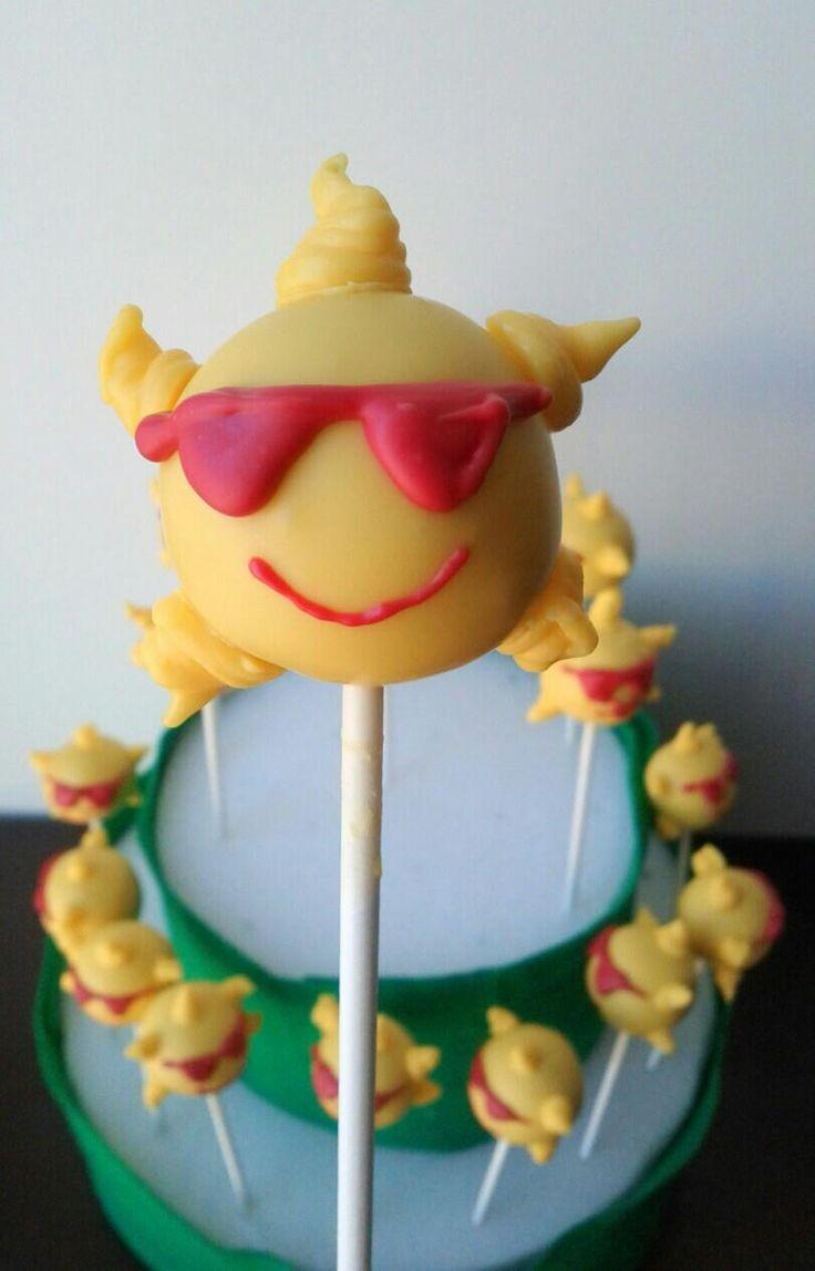 Sunshine Cake Pops | Cakes and Stuff I've Made | Pinterest