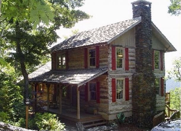 Log Cabin In The Blue Ridge Mountains Tiny Cabins Dream