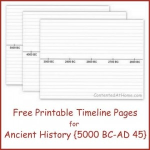 Breathtaking image with regard to printable history timeline