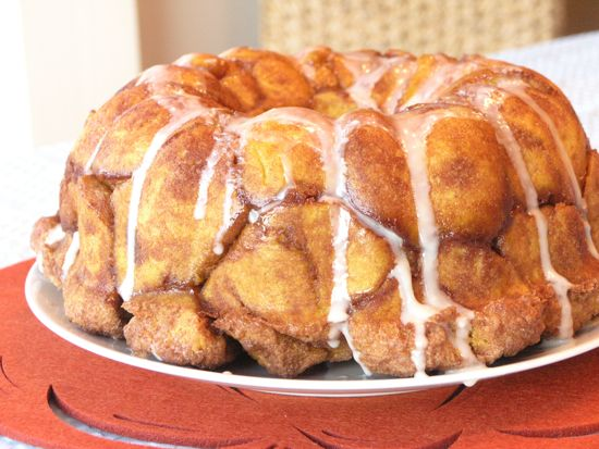 Pumpkin Pull-Apart Cinnamon Buns | bakery | Pinterest