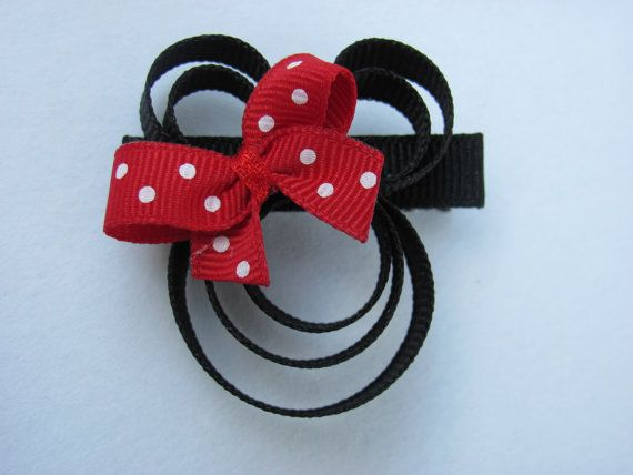 Minnie Mouse - for Abby! | Things to Make | Pinterest