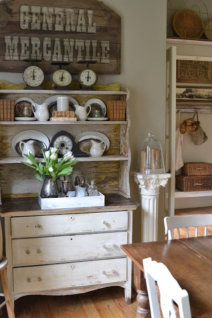 Country Home Decor Faded Charm Decorating Ideas Pinterest