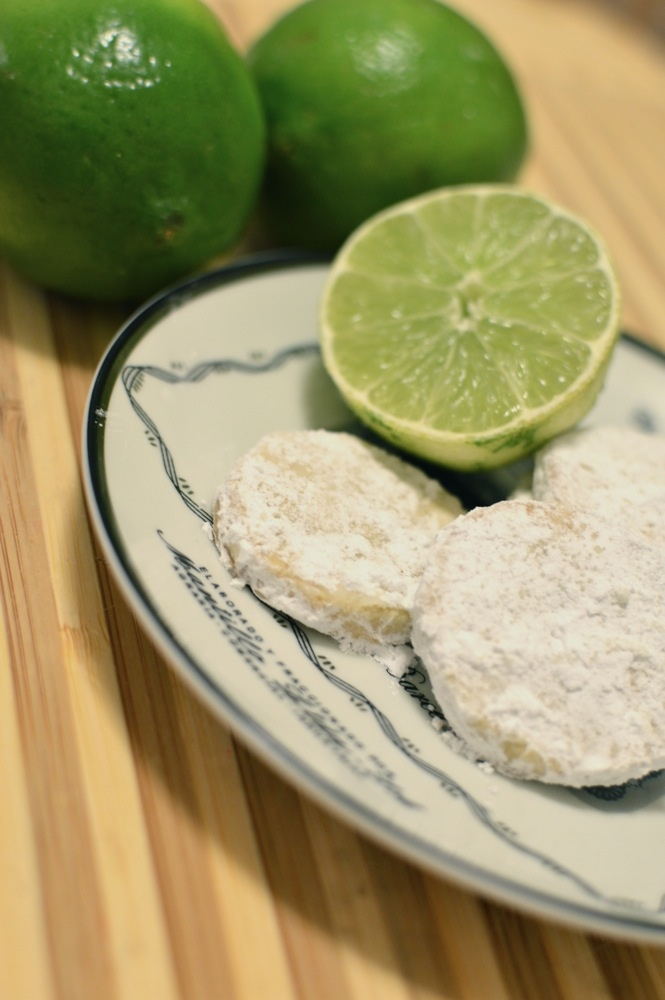 lime meltaway cookies via kitchen frolic | recipes from my kitchen ...