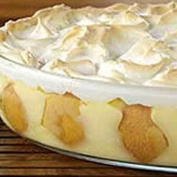 Meringue-Topped Southern Banana Pudding | Desserts | Pinterest