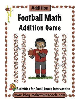 Football Math Addition Game