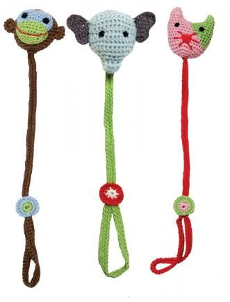Crochet Pacifier Holder