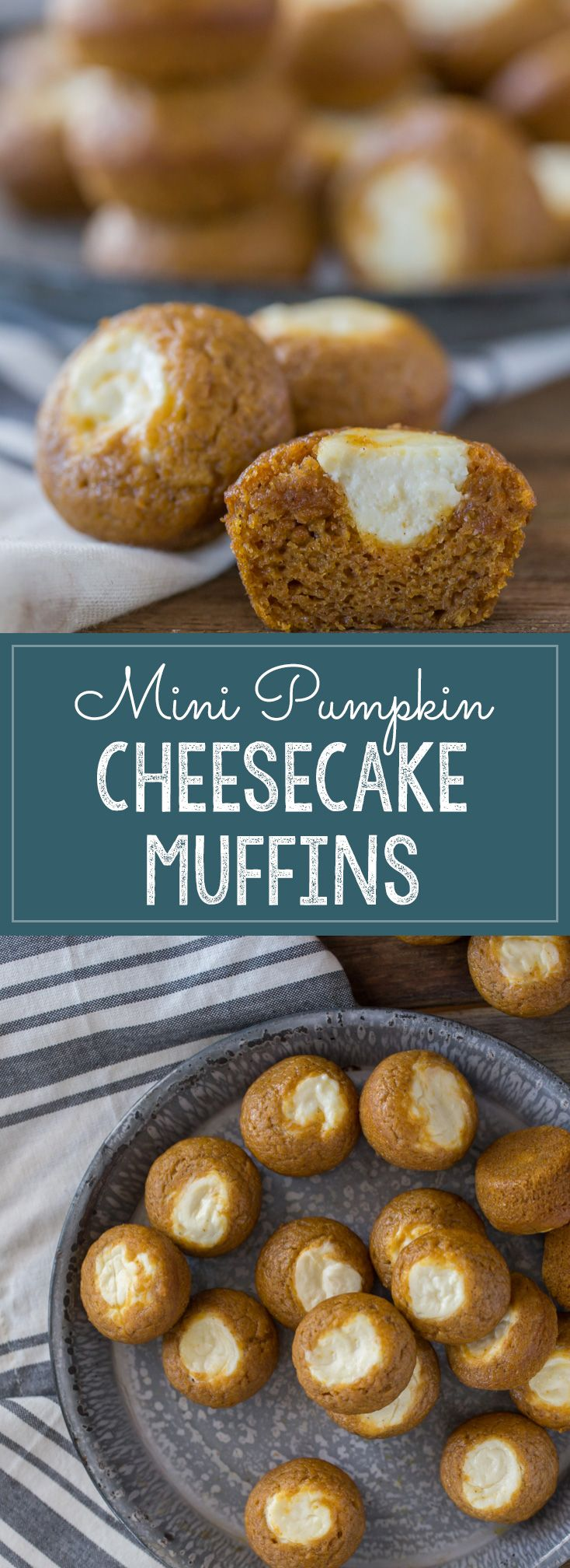Cheesecake muffins