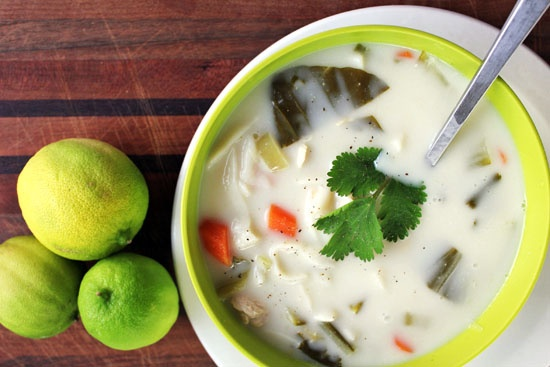 Coconut-Lime Chicken Tofu-Noodle Soup | Recipes- Soups | Pinterest