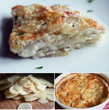 Scalloped Potatoes recipe on Food52.com I added gruyere cheese and ...