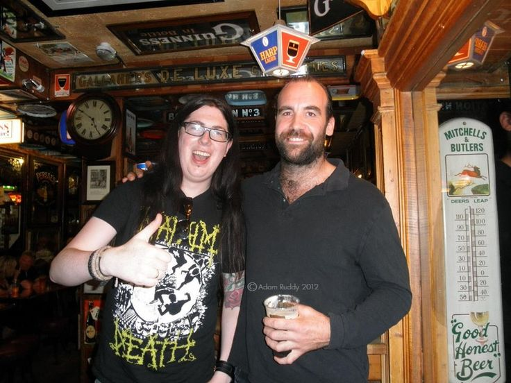 Tall Joh ( 6'3 ) & Rory, Belfast 2012 Photo Copyright : Adam Ruddy