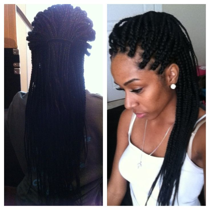 Jumbo Box Braids _amoraking Instagram | Braids | Pinterest