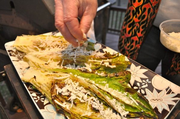 Grilled Romaine Lettuce | GrillinFools