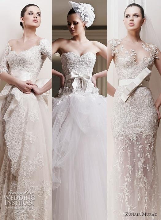 Zuhair Murad Lace Wedding Gowns : Zuhair murad lace wedding dresses maquillaje y manicura