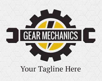 Diesel mechanic logo