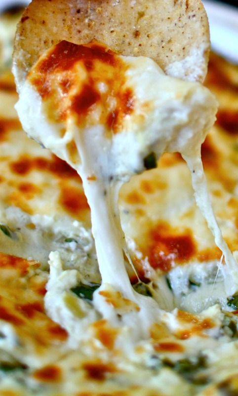 The Best Spinach Artichoke Dip Ever | Foodie Inspiration | Pinterest