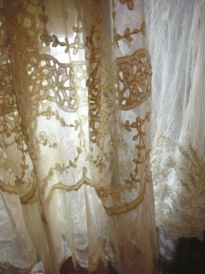 vintage lace curtains linen and lace pinterest