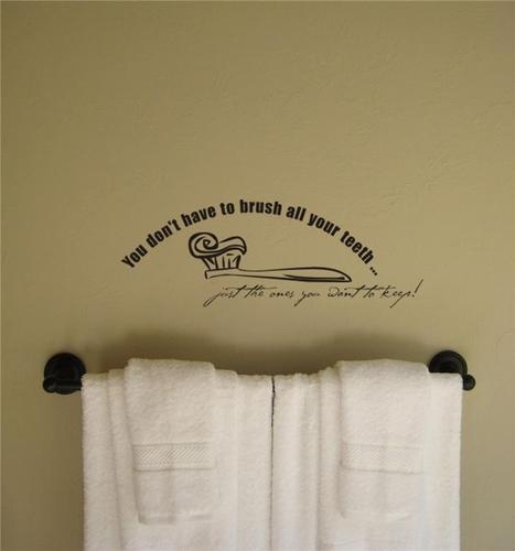 bathroom wall quotes home