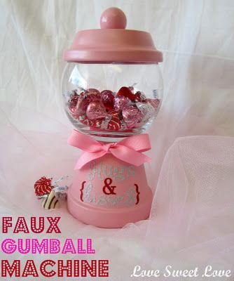 Valentine Gumball Machine