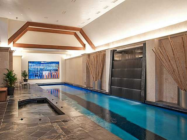 Indoor Lap Pool Interior Intrigue Pinterest
