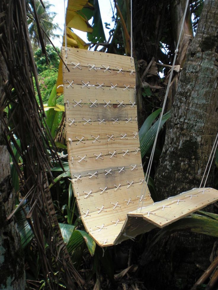 Diy Paracord Laced Hanging Chair Wood Crafts Pinterest
