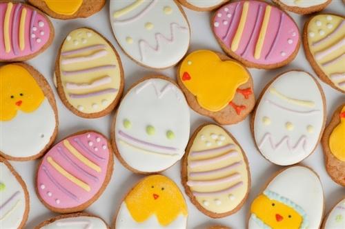 Chickadee Chicks | Sugar Cookies ~ Easter | Pinterest