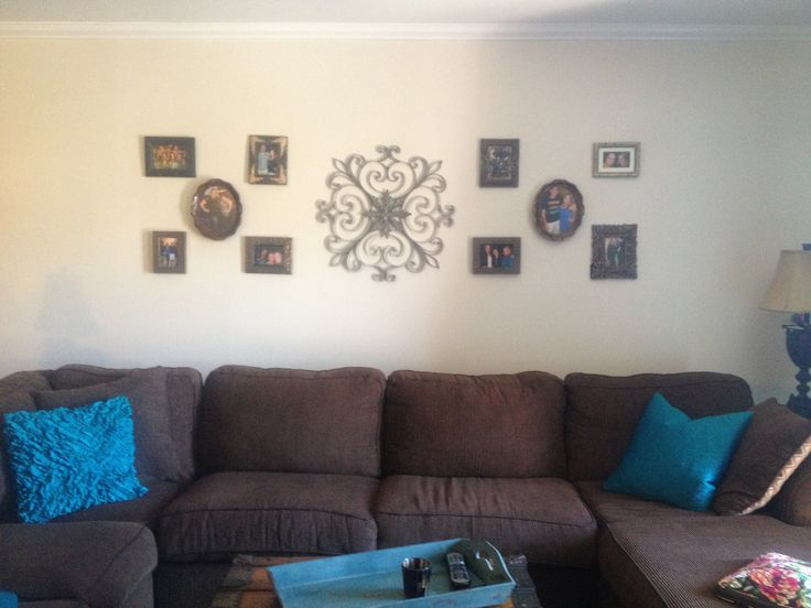 Wall Decor For Behind Couch : Behind sofa or couch decor diy homekeeping