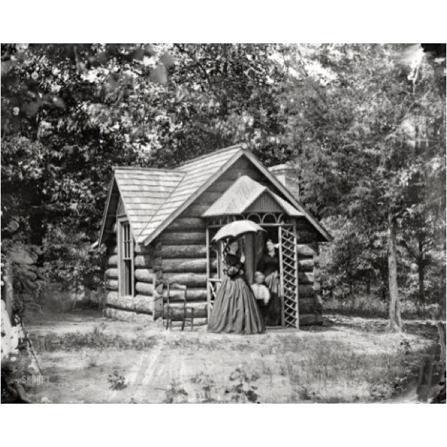 Civil War Petite Cottage Tiny Homes Pinterest