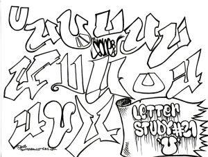 u graffiti letters  Found on howtodrawletters.com
