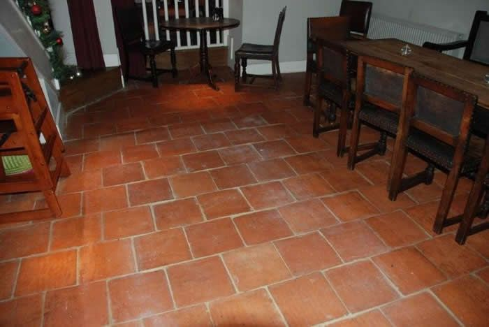 Terra Cotta Ceramic Floor Tile New And Reclaimed Quarry Tiles